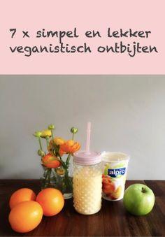 Veganistisch ontbijten