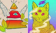 Desenhos de Bruno Miranda