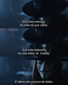 V de Vingança (2005) Series Movies, Movies And Tv Shows, Hugo Weaving, Reflection Quotes, Troll Face, V For Vendetta, Guy Fawkes, Movie Lines, Comics Universe