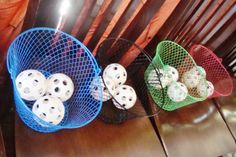 Olympics Game: Throw balls into baskets. Olympic Gymnastics, Olympic Games, Gymnastics Quotes, Carnival Game Signs, Carnival Ideas, Trailer Trash Party, Field Day Activities, Fun Icebreakers, Bridesmaid Duties