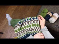 Erikoisjakso: Näin neulon kirjoneuletta - YouTube Knitting Videos, Nepal, Fingerless Gloves, Arm Warmers, Diy, Youtube, Fashion, Fingerless Mitts, Moda