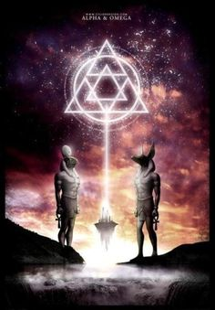 No on ever asks how the star of David came about. The pyramid pointing up represents divine masculine/phallus innergy. The pyrmaid pointing down represents divine feminine/yoni innergy. You merge them together you get a six pointed star. Balance. Ma'at. Our innergies REuniting again are the alpha and omega. The original BEings were androgynous which means they were already in harmony and union! - Lukisha R. Williams