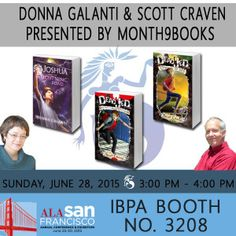 Book Lovers Life: M9B Friday Reveal: ALA feature on Scott Craven and Donna Galanti with Giveaway! #M9BFridayReveals