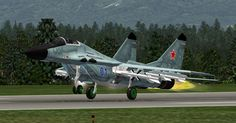 MiG-29 Taking Off