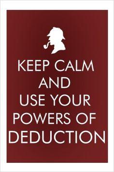 Keep Calm and...Sherlock