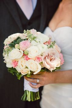 Gorgeous Garden Wedding Bouquet | Chelsea Elizabeth Photography | #Weddings
