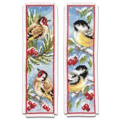 Vervaco® Birds in Winter Bookmarks
