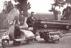 All things Lambretta & Vespa — The final ride Retro Scooter, E Scooter, Scooter Girl, Piaggio Scooter, Vespa Lambretta, Motor Scooters, Vespa Scooters, Mobility Scooters, Cool Bicycles