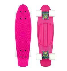 So pretty this pink and white Penny board.