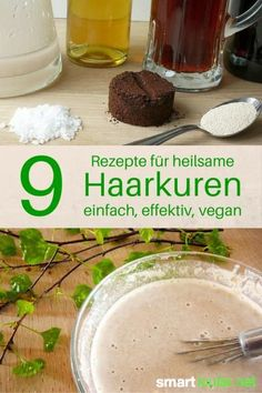9 Heilsame Haarkuren aus Küchenzutaten – einfach, effektiv und vegan Brittle, lackluster but also fast greasy hair are looking forward to regular care. Here you will find a simple hair cure for every problem case. Beauty Care, Diy Beauty, Beauty Hacks, Beauty Tips, Beauty Skin, Beauty Products, Beauty Secrets, Homemade Beauty, Belleza Diy