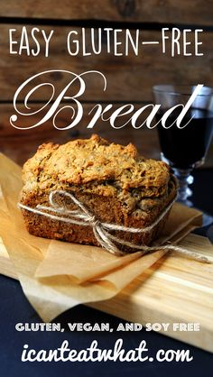 This is the bread that I have wanted for my meals, Easy Gluten Free Bread (Vegan/Yeast Free)