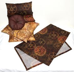 Quietude Quilts Custom Steampunk Bedding