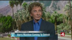 Live in the D: Barry Manilow is coming to Detroit | Live in the D  - Home