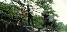 This was one of the most thrilling scenes in Jurassic World - Indominus Rex