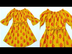 Kurta Neck Design, No Frills, Frocks, Girl Fashion, Rompers, Gowns, Summer Dresses, Sewing, Winter
