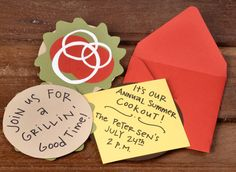 How-to: hamburger party invites - Paper Source Blog Paper Source Blog