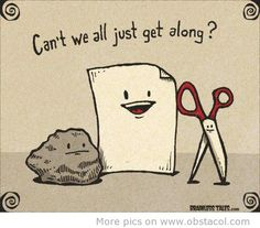 Can`t we all just get along?