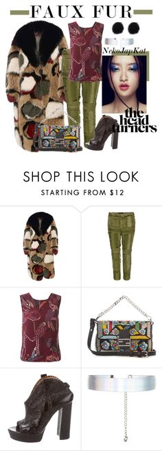 """""""faux fur 2"""" by neko-m-tucker-smith on Polyvore featuring Marni, Haider Ackermann, Hope, Fendi, Viktor & Rolf and Accessorize"""