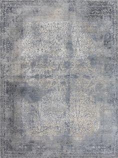 Elements - Grey and Blue Rug | Bazaar Velvet | Rug Store London