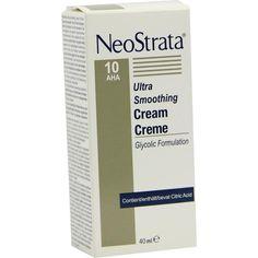 NEOSTRATA Creme 10 AHA:   Packungsinhalt: 40 ml Creme PZN: 00728517 Hersteller: IFC Dermatologie Deutschland GmbH Preis: 26,79 EUR inkl.…