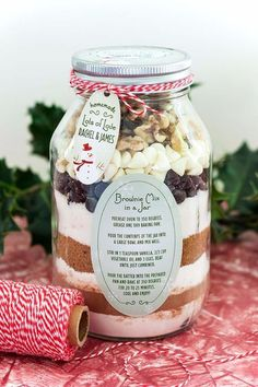 33 Best Recipes in A Jar Best Recipes in A Jar Brownie Mix In A Jar DIY Mason Jar Gifts Cookie Recipes and Desserts Canning Ideas Overnight Oatmeal How To Make Mason Jar Salad Healthy Recipes and Printable Labels diyjoy