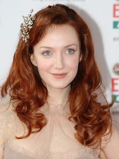 Best Copper Red Hair Color - Pictures of Celebrities with Copper Red Hair - Marie Claire Copper Blonde Hair Color, Copper Red Hair, Natural Red Hair, Red Hair Color, Hair Colors, Zooey Deschanel, Cabello Zayn Malik, Hair Color Pictures, Choppy Bob Haircuts