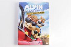 ALVIN Y LAS ARDILLAS FIESTA SOBRE RUEDAS - DVD