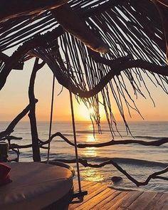 ☀️Good morning sunshine☀️ #Amazing #Sunrise #Azulik #Good #Morning #Magic #AzulikSkyVilla #Beautiful #Nature #tbt #Disconnect #Sunshine #Tulum #Mexico #Adventure #Live #Love #Eco #Resort #RePost @monikakandefer