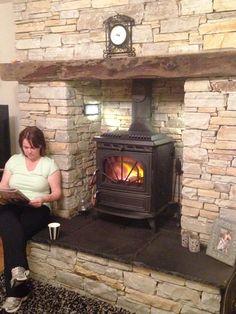Gold & Silver Quartzite Fireplace Surround