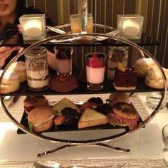 High tea at Coco in Hong Kong
