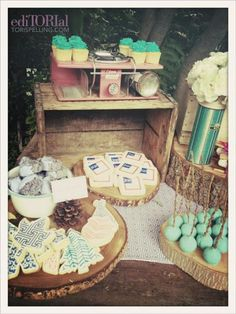 Fancy Woodland Party