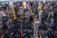 Hannes Cmarits - MANHATTAN - city lights