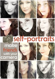 2 - Take inspiration from Krystal's AWESOME tips on getting better self-portraits to make friends with your camera in a fun new photograph of yourself and scrap the results! - 2 pts.
