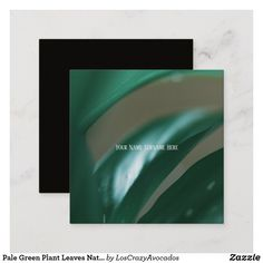 Shop Pale Green Plant Leaves Nature Feel Business Card created by LosCrazyAvocados. Company Business Cards, Love Natural, Green Plants, Plant Leaves, Things To Come, Feelings, Nature, How To Make, Prints