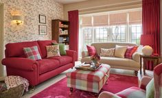 ✓ 85 Romantic Shabby Chic Living Room Decor Ideas - Shades of the monochrome spectrum will create much less distinction and can make your small front room look bigger. Burgundy Living Room, Living Room Red, Cottage Living Rooms, Living Room Decor Curtains, Shabby Chic Decor Living Room, Shabby Chic Furniture, Wooden Furniture, Antique Furniture, Furniture Design