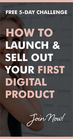 Launch in 90 DAYS - A Step-By-Step 5-Day Challenge to Plan, Launch and Sell-Out Your First (Or Next) Digital Product, Program or Course (Because 1-on-1 grind can only take you so far!) In just 5 days, I'm going to walk you through how I transitioned from 1-to-1 business model to 1-to-many and generated over $80,426 in just 90 days.  Go from having a tingling idea in your mind to a well-positioned offer that is sure to provide you the creative edge, expert credibility and financial comfort