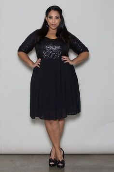 #refinery29 http://www.refinery29.com/party-perfect-plus-size-cocktail-dresses#slide-15