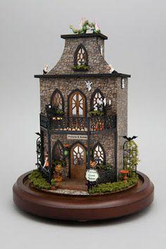 70804dac Good Sam Showcase of Miniatures: Quarter-Scale Haunted Dollhouse, Dollhouse  Miniatures, Dollhouse