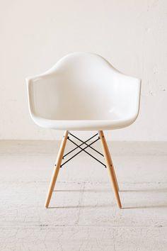 Slide View: 2: Modernica Dowel Arm Shell Chair