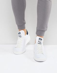 adidas Stan Smith Boost Primeknit Sneakers In White BB0012