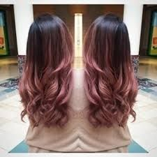 Resultado de imagen para rose gold hair ombre