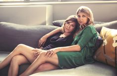 Sisters -- love the soft lighting and filter here!  (How Falling in Love With a Blowtorch Helped 2 Brooklyn Sisters Launch Sorellina)