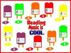 Reading Music is Cool Bulletin Board
