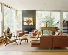 Mid-Century Modern is so simple & cool