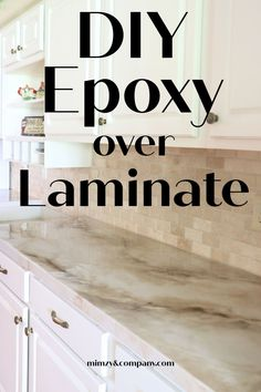 Painting Laminate Countertops, Epoxy Countertop, Cabinets And Countertops, Kitchen Redo, Kitchen Remodel, Kitchen Design, Countertop Makeover, Countertop Transformations, Diy Crafts For Home Decor