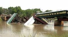 ENGINEERING: BRIDGE COLLAPSED BY TRAN CRASHING