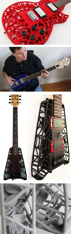 3D Printed Guitars