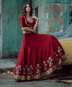 Jayanti Reddy collection Love the blouse design.