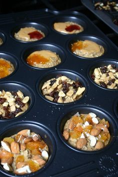 Individual Baked Oatmeal Cups by JesicakesBaking, via Flickr