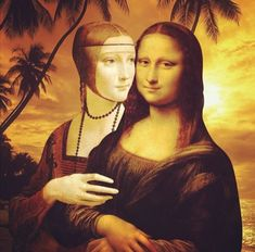 81 Best Lesbian Mona Lisa Images In 2020 Mona Lisa